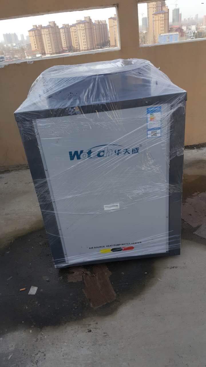 漯河酒店空气能热水器安装完毕