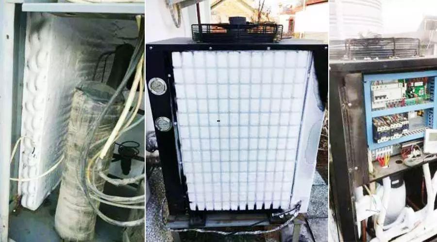 空气能热水器蒸发器结霜.jpg